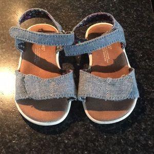 TOMS chambray sandal